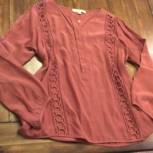 Ann Taylor LOFT Loose Fitting Blouse